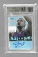 Shaquille O'Neal 2012-13 Leaf Metal Faces of the Game Autograph 42/50 BGS 9.5/10