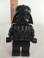 "Lego Star Wars Darth Vader Digital Alarm Clock 9"" Works"
