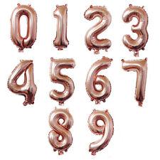 32 Inches Number 0-9 Digital Aluminum Film Balloons Birthday Wedding Decor
