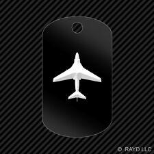 A-6 Intruder Keychain GI dog tag engraved many colors  A6