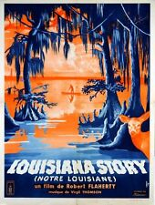 Affiche LOUISIANA STORY / NOTRE LOUISIANE