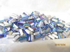 144 VINTAGE MINT Swarovski Crystal Rhinestones 5x10 Starlight AB 4600 Baguettes