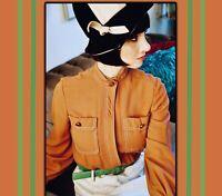 Vintage Cloche Jazz age hat Mr John Classic NY Velour 1920's inspired