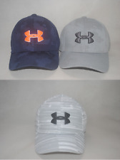 New Under Armour Youth Boys' UA Printed Blitzing Stretch Fit Cap Hat S/M