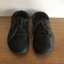 ☘️ VIVOBAREFOOT Black Leather Loafers Ballet Flats Sneakers Trainers Runner 37 7
