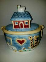 Noahs Ark Certified International Susan Winget Ceramic Cookie Jar/ Pre-Owned