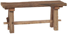 Ib Laursen Bank Unika Wood Bench Unique Wooden Bench 30x90 cm Recyclingholz