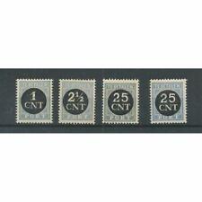 Nederland P61-64 Port 1923 MNH/postfris CV 60 €