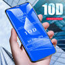 For IPhone X XS MAX XR 8 7 6 10D Full Cover Film Tempered Glass Screen Protector