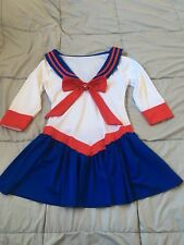 WOMENS SAILOR MOON COSTUME WITH GEMSTONE S
