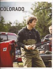 2012 12 Chevrolet Colorado original sales brochure