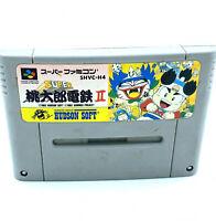 Jeu SNES Super Momotarou Densetsu 2 II Super Famicom Nintendo Cartouche Japonais