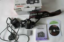 Canon EOS 500D 15.1MP Digital-SLR Camera (Camcorder) - Body Only - BOXED
