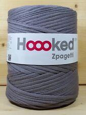 Hoooked 'zpagetti Dingo Grey/gris arcilla' nuevo sustancia hilados, ganchillos, tejer 848