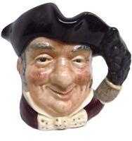 "Vintage Royal Doulton ""Mine Host"" Character Toby Mug Jug D 6470 Ceramic Face"