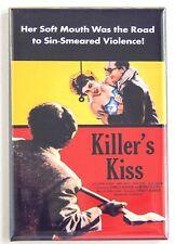 Killer's Kiss Fridge Magnet (2 x 3 inches) movie poster stanley kubrick