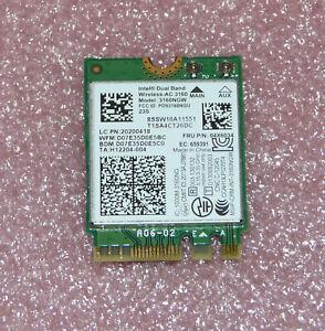 Intel Dual Band Wireless-AC 3160NGW 802.11ac Netzwerkkarte für Lenovo G50-30