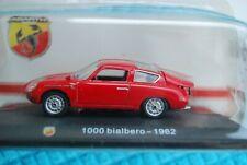 HACHETTE 1/43 FIAT ABARTH 1000 BIALBERO 1962 NEUVE EN BOITE ORIGINE