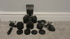 PRAKTICA BCA ELECTRONIC 35 MM CAMERA WITH 2 LENSES AND FLASH