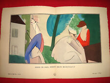 MODE FASHION COUTURE PRET A PORTER Gazette BON TON 1914 N° 6 BOUSSINGAULT POIRET