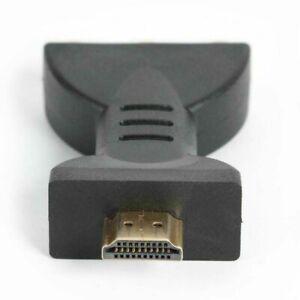 Audio Adapter HDMI Klinke Stecker auf 3 Cinch Chinch Buchse Konverter TV Monitor