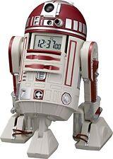 New Rythm Watch Star Wars R4-P17 Voice Action Alarm Clock Red 8ZDA21BZ01