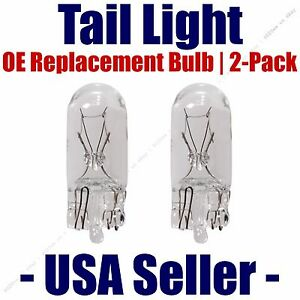 Tail Light Bulb 2pk - OE Replacement Fits Listed Subaru & Toyota Vehicles - 168