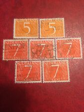 Nederland stamps 1953 Used New Values (d)