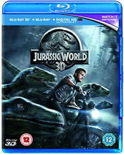 Jurassic World [Blu-ray 3D + Blu-ray] [New Blu-ray]