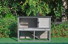 Giant Wood Indoor & Outdoor Rabbit Hutch for Rabbits And other Small Animals