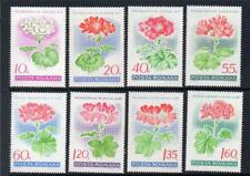 Europe Stamps Finland 1981 Fuchsia Violet Geranium Flowers Medical Health Tb Tuberculosis Mnh