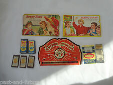 12 piece Vintage Lot Of Sewing Needles And Cards- Clinton, One World,