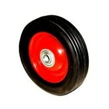 """6"""" Replacement Solid Hard Rubber Tire Wheel and Rim for Dolly Hand Cart"""