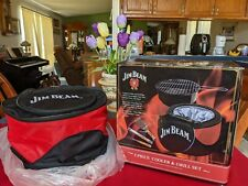 Jim Beam Five Piece Cooler and Grill Set * New Still Wrapped Up in Plastic