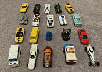 Lot of 25 Die Cast Cars Loose Mostly Hot Wheels Years Vary