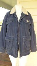 Billabong vintage blue cotton corduroy fully lined jacket unisex Size M