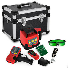 Niveau Laser Rouge Rotatif Rotary Red Laser Level 500m Automatique Electric