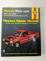 Chilton Workshop Manual Mazda B2200 B2600 MPV Navajo 1987-1993 Service Repair
