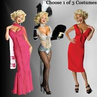 Adult Actress Entertainment Star Sexy Showgirl Marilyn Monroe Dress Suit Costume