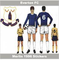 Unused Football Stickers Liverpool 1996 Merlin 96 Various Players