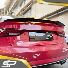 Spoiler Heckspoiler Spoilerlippe Schwarz M4 Optik für Audi A3 8V S3 Limo S Line