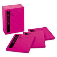 Post-it Super Sticky Self-Stick Message Pad 4 x 5 Pink 50-Sheet 12/Pack 766212SS