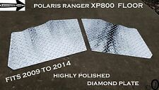 Polaris Ranger XP800 Fullsize Aluminum Diamond Plate Floor Cover 2009-14