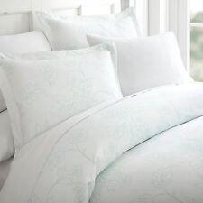 ienjoy Home Soft Duvet Twin Sized Cover Set �Pack of 3, Aqua