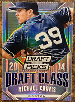 🔥 2014 MICHAEL CHAVIS RC Silver Refractor PRIZM DRAFT PICKS Draft Class 2019