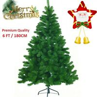 6/FT 180cm GREEN CHRISTMAS TREE COLORADO SPRUCE ARTIFICIAL TREE with Metal stand