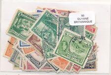 Guayana Inglesa    US  Paquete  50 sellos diferentes