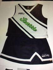Seattle Seahawks NFL 2 Piece Cheerleader Outfit Girls Size 2T New With Tags