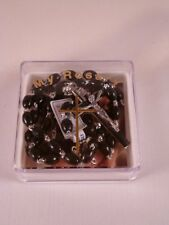 Plastic Rosary ~ Black ~ Extra Strong