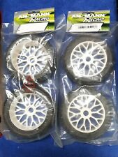 Ansmann Racing 1/8 Wheel Tyre  Honeycomb Block Tread 17mm Model:AR-214000022